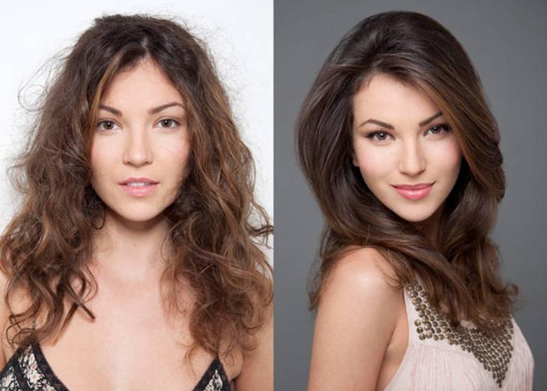 волосы до тонирования и после