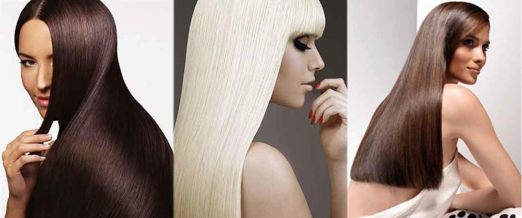Девушки с красивыми волосами