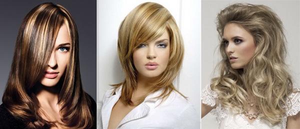 девушки с тонированными волосами