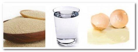Вода, хлеб