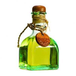 масло в бутылке