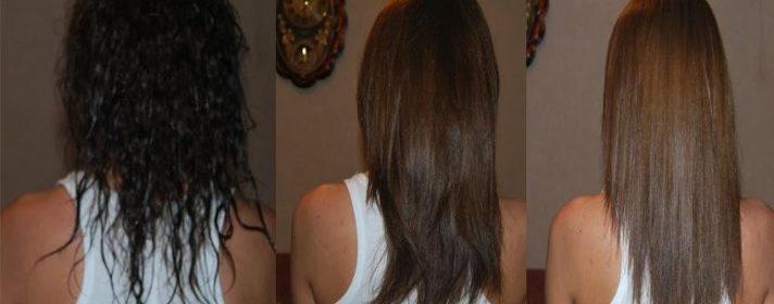 фото после смывки волосы