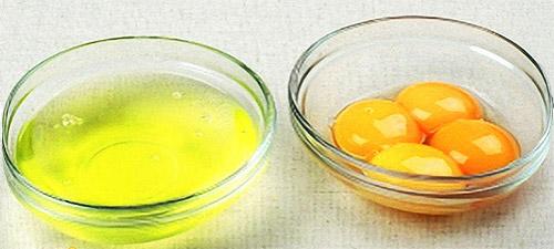 Белок и желток