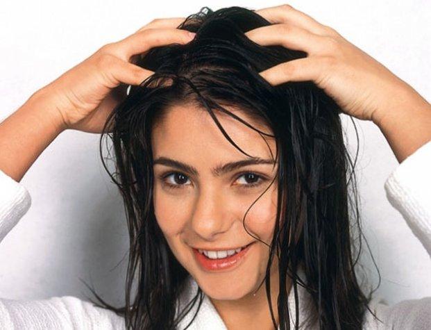 Волосы народные средства за жирными волосами