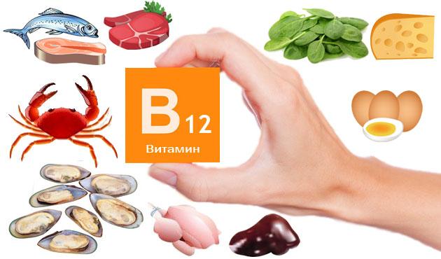Ы каких продуктах содержится витамин b12
