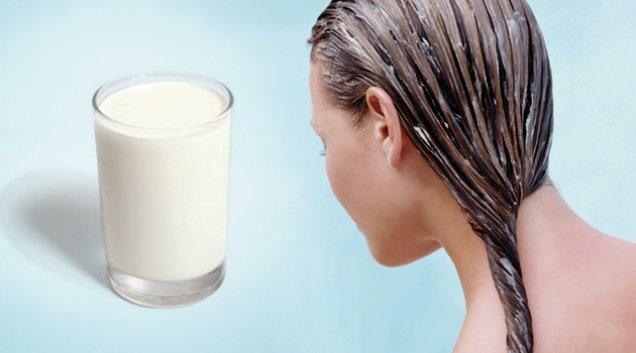 Девушка и стакан молока