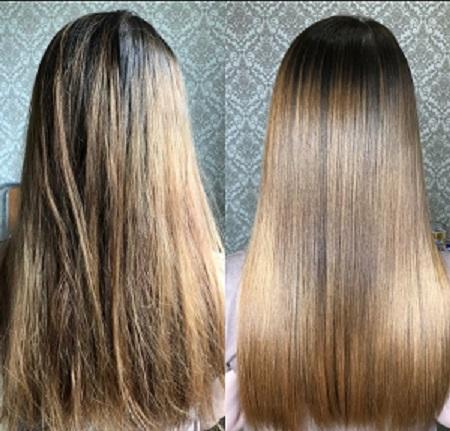 Рисовая вода для волос. Результат за 3 недели: ДО и ПОСЛЕ