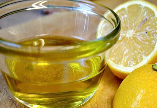 оливковое масло и лимон для волос